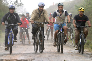 Biking tour in Nepal and Tibet