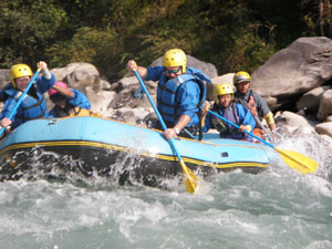 Short Rafting Trips in Nepal